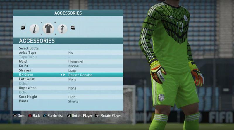 I guanti da portiere in FIFA e PES