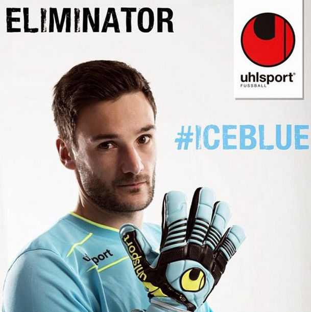 Lloris con gli Uhlsport Eliminator Absolutgrip